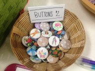 Lavender's Green Buttons!